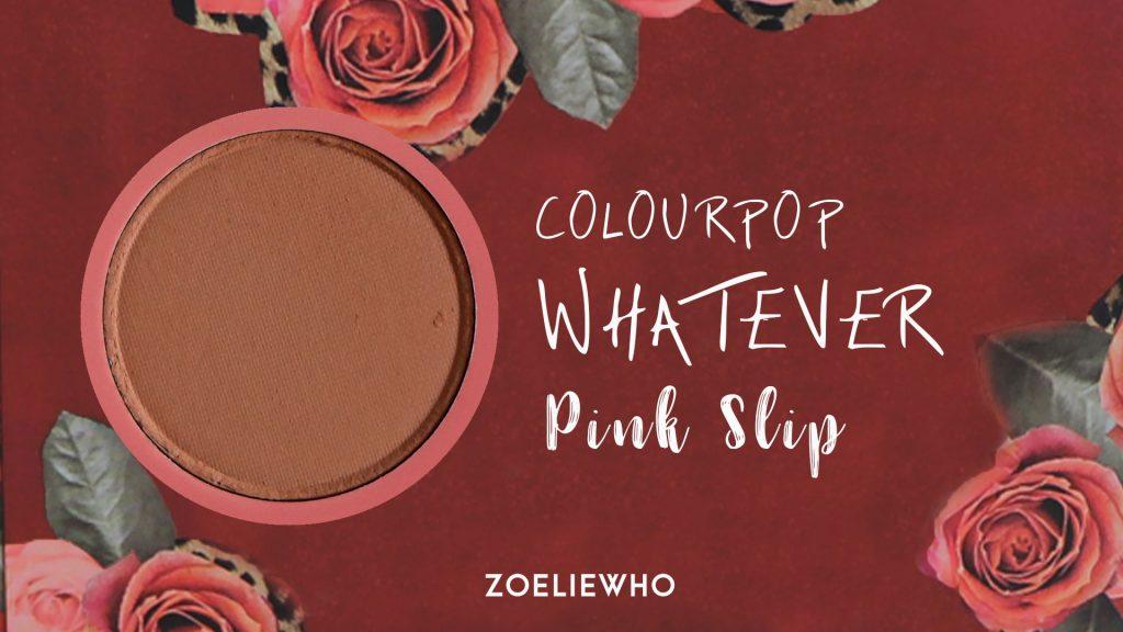 pink slip - matte soft beigey taupe